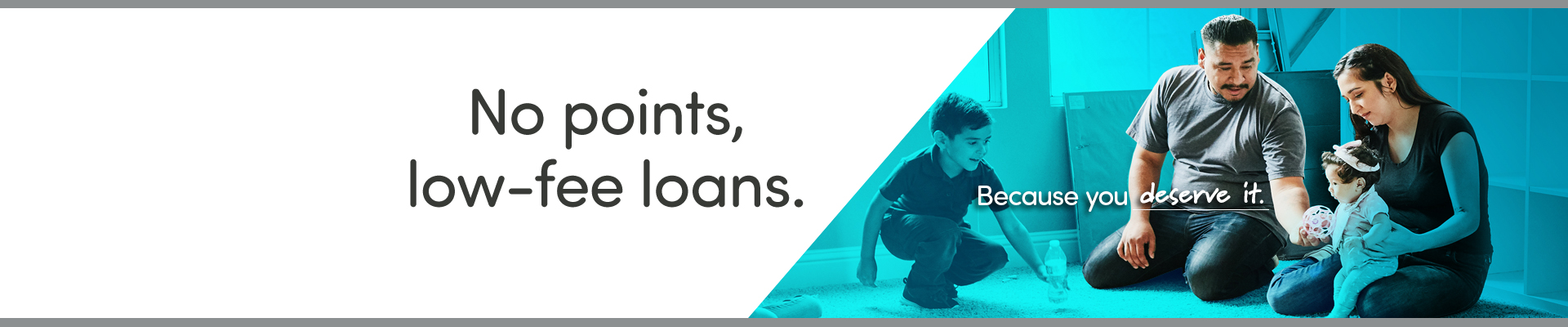 No points, low-fee loans